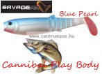 SAVAGE GEAR LB Cannibal Play Body 12,5cm gumihal Blue Pearl (61859)