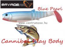SAVAGE GEAR LB Cannibal Play Body 12,5cm gumihal Blue Pearl (61859)