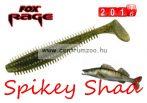 Fox Rage Spikey Shad Green Pumpkin 12cm prémium gumihal 1db (NSL534)
