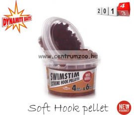 Dynamite Baits SWIM STIM RED KRILL Soft Hook pellet 4 és 6mm (DY218)