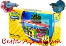 Penn Plax Spongebob akvárium 2,65l akvárium betta halaknak (092039)