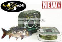 Carp Spirit Herculine 25lbs 11,3kg 20m Camo Green - fonott előkezsinór