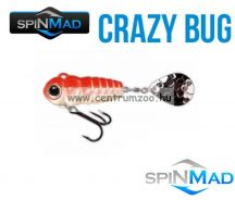 SpinMad Blade Baits gyilkos wobbler CRAZY BUG 4g  2412