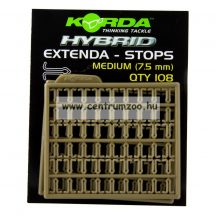 KORDA stopper Extenda Stops Medium 7,5mm  (KEXSM)