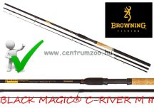 Browning BLACK MAGIC® C-RIVER M II 3,60m 100g feeder bot (12222360)