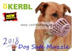 KERBL Dog Safe Muzzle 5-es barna kényelmes szájkosár (81015)