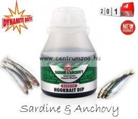 Dynamite Baits Sardine & Anchovy horog dip  200 ml (DY537)