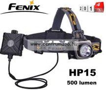 fejlámpa  FENIX HP15UE Ultimate Edition LED FEJLÁMPA szürke 178m (900 LUMEN) vízálló NEW