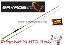 """SAVAGE GEAR Dropshot XLNT2 7'6"""" 228cm 7-25g - 2sec pergető bot (48521)"""