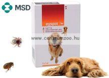 EX-SPOT SPOT ON 1ml kullancs és bolha elleni csepp közti kutyáknak