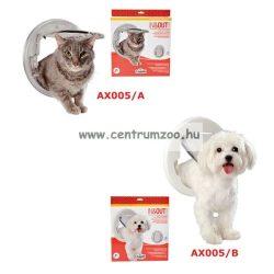 Camon IN&OUT Universal CRYSTAL áttetsző macska ajtó AX005/A
