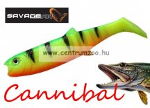 SAVAGE GEAR LB Cannibal Play Body  8cm gumihal Firetiger (61846)