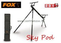 Rod-Pod - Fox Sky Pod 3-rod inc. Carry Case masszív prémium bottartó állvány 3 bothoz (RP3573) + PÓLÓ