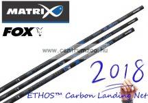 MERÍTŐNYÉL Fox Matrix ETHOS™ Carbon Landing Net Handle MK2 erős merítő nyél 3m 2 rész (GLN034)