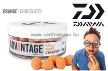 Daiwa Advantage Baits Semi Buoyant 6/8mm 30g  Hookbait Orange Chocolate (13300-100)