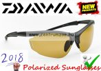 Daiwa Polarized Sunglasses - AMBER LENS 2018 NEW modell (DTPSG2)(209279)