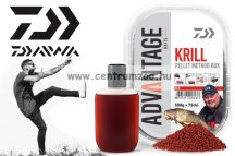 Daiwa Advantage Baits Method Krill Pellet Box 500g pellet +75ml locsoló (13300-201) rák