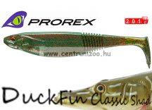 Daiwa Prorex DuckFin Classic Shad 125DF BB  prémium gumihal 12,5cm - Motor Oil (16722-006)