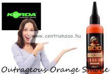 Korda Goo Outrageous Orange Smoke aroma dip (GOO35) narancs