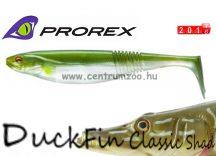 Daiwa Prorex DuckFin Classic Shad 100DF BB  prémium gumihal  7,5cm - Metallic Ayu (16720-005)