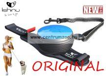 LISHINU ORIGINAL automata póráz 3m 30kg-ig (116553) BLACK