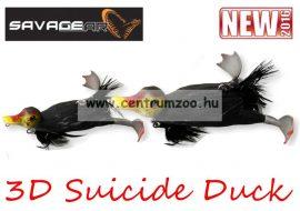 Savage Gear 3D Suicide Duck mű kiskacsa csukára, harcsára 10,5cm 28g (Coot color)(53732)