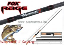 FOX Rage Warrior® II  Zander Casting Rods 210cm 10-30g 2pc pergető bot (NRD275)