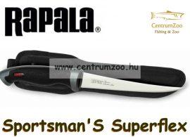 Rapala Sportman's Superflex  prémium filézőkés 20cm pengével (SNPF8)