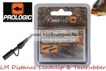 Prologic LM Heavy Duty Long Leadclip w/pins & Tailrubber 10db (49889)