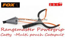 Fox Rangemaster Powergrip Catty -Multi pouch Catapult masszív csúzli  (CPT024)
