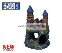 Penn Plax Deco Castle Red dekorációs szobor akváriumba 19cm (027376)