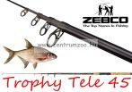 ZEBCO Trophy Tele 45   3,0m 15-45g teleszkópos horgászbot   (14521300)