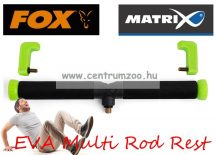 Fox Matrix Smooth EVA Multi Rod Rest Small 25cm bottartó fej sima (GBA035)