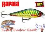 Rapala SSDR16 HTP  Super Shadow Rap® Rapala wobbler