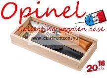 Opinel Collecting Wooden Gift Box kés+tok+díszdoboz szett (000815)