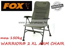 FOX Warrior® 2 Arm XL Chair kényelmes erős szék (CBC069)
