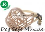 JK Animals Dog Safe Muzzle C2 Medium kényelmes szájkosár (44222)