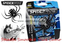 Spiderwire Stealth Smooth8 150m 0,17 mm blue camo fonott zsinór (1476020)  15,8kg