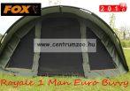FOX Royale 1 Man Euro Dome Bivvy SÁTOR  262x178x128cm  (CUM186)