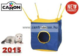 Camon Casa cubica per furetto ketrecbe építhető szint, függőágy, bújkáló H340/C