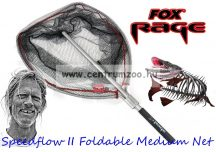 MERÍTŐ  Fox Rage Speedflow II Foldable Medium Net merítő szák (NLN007)