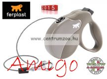 Ferplast AMIGO CORD MINI automata póráz DOVE GREY