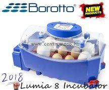 BOROTTO Lumia 8 ABS Italy Automatica - Professional csirkekeltető automata tojásforgatóval