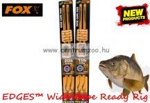 Fox EDGES™ 15lb, 8 size Wide Gape Ready Rig Barbless (CCR149) ELŐKÖTÖTT BOJLIS HOROG - szakáll néjküli