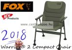 FOX Warrior® 2 Compact Chair kényelmes erős szék (CBC067)