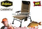 Delphin CX Carpath Horgász szék kartámasszal (410100062)