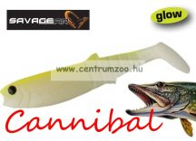 SAVAGE GEAR LB Cannibal Play Body 8cm gumihal Fluo Glow (43778)