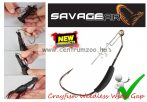 SAVAGE GEAR 3D Crayfish Weedless Wide Gape Hook M# xG 3pcs offset horog  (47112)