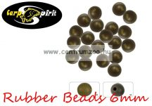 Carp Spirit Rubber Beads Camo 6mm - 25db szilikon gyöngy (ACS010233)