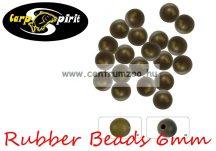 Carp Spirit Rubber Beads Camo 6mm - 25db szilikon gyöngy (ACS010233)